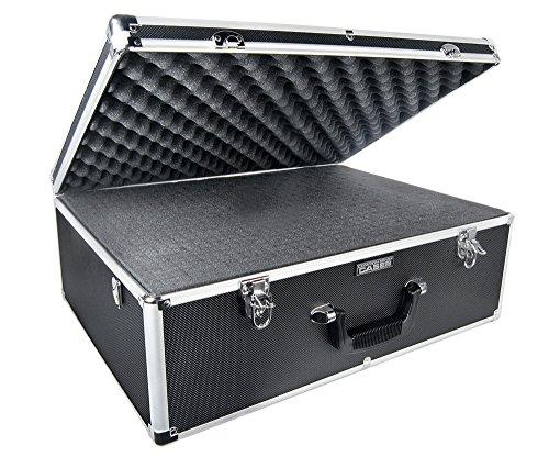 Premium Aluminum-Frame Carrying Case for Blade 350 QX and DJI Phantom Quadcopters