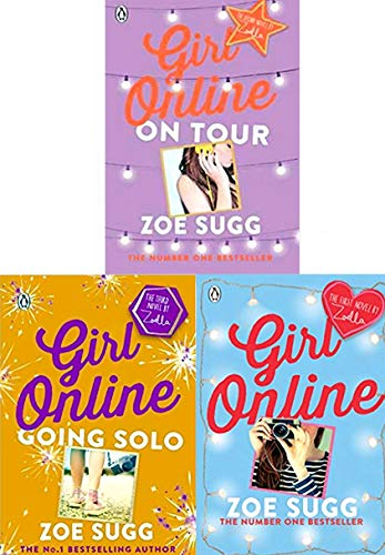 (Girl Online 3 books collection (Girl Online ,Girl Online: On Tour, (HB )Girl Online: Going)