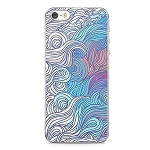 Hairs iPhone 5s Tranparent Edge Case - Design 10