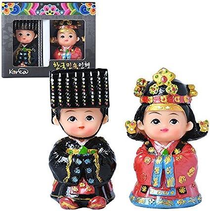 Gongyenara Korean Folk Doll Korean traditional clothes souvenirs Gift