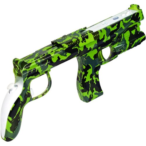 Camo Shotgun for Nintendo Wii by Intec
