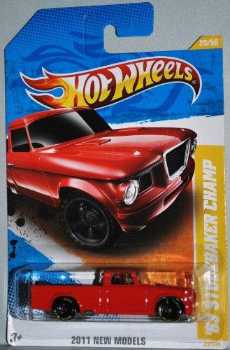 Hot Wheels 2011 '63 STUDEBAKER CHAMP Goodyear Tires 1:64 ...