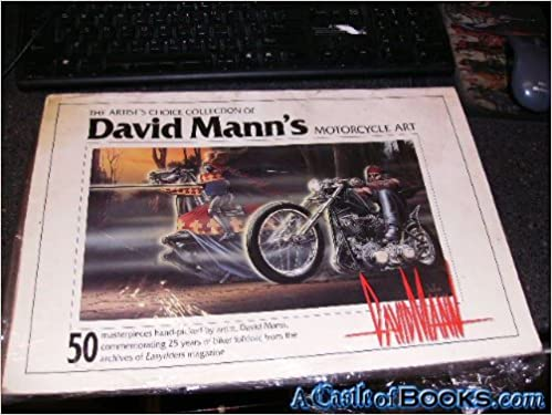 the artist s choice collection of david mann s motorcycle art 50
