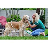 Woof Washer 360 pet dog Gently clean canine coats with ring-shaped
