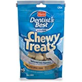 Hartz Dentist'S Best Beef Flavored Chewy Dental Dog Bone Treats - Small, 10 Pack
