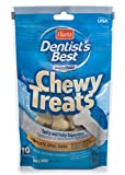 Hartz Dentist'S Best Beef Flavored Chewy Dental Dog Bone Treats – Small, 10 Pack