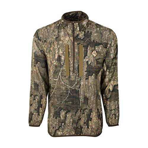 Drake Ol Tom Tech 1/4 Zip - Realtree Timber (Small)