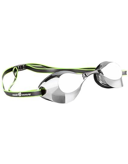 81db18f0be91 Amazon.com   Mad Wave Turbo Racer goggle Mirrored - Black   Sports ...
