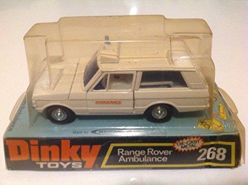Meccano Dinky Toys (Dinky Toys 1:43 Range Rover Ambulance White #268)