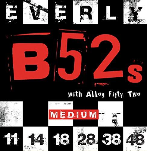 (Everly B-52 Electric Strings .011-.048 Medium/9211)