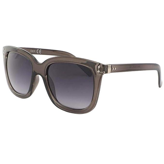 Gafas de sol para mujer transparente marrón Olya - Mixta ...