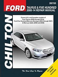 amazon com haynes 36076 ford taurus repair manual automotive rh amazon com 2000 Ford Taurus Repair Manual 1994 ford taurus repair manual download