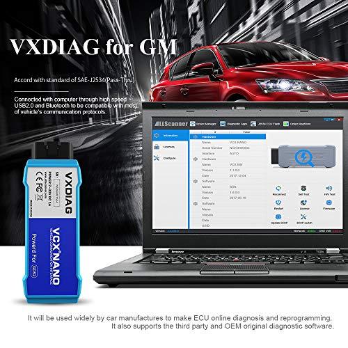 VXDIAG Auto Diagnosis Scan Tool for GM/OPEL GDS2 Tech2 Car
