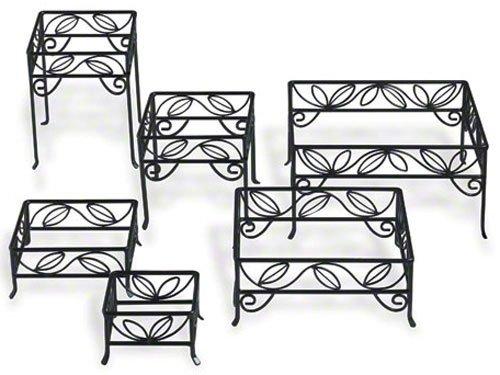 (SLRS7) Ironworks Square Leaf Riser Set (Set of 6 Sizes) (Leaf Riser)