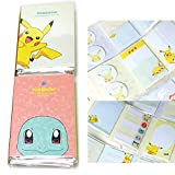 Pokemon Pikachu Post It Sticky Notes Sticker Memo Pad Bookmark Tab Note Set of 2 B
