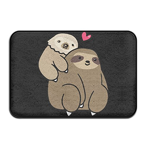 Toed Candy Dish (Two Toed Sloth And Three Toed Sloth Soft Kitchen Rug ,Non Slip Handy Mat For Kitchen)