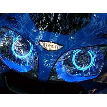 Suzuki GSXR 600 750 04-05-06-07-08-09-10-11-12-13 CCFL Demon Halo Angel Eyes Kit