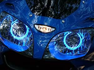 Suzuki GSXR 600 750 04-05-06-07-08-09-10-11-12-13 CCFL Demon Halo Angel Eyes Kit
