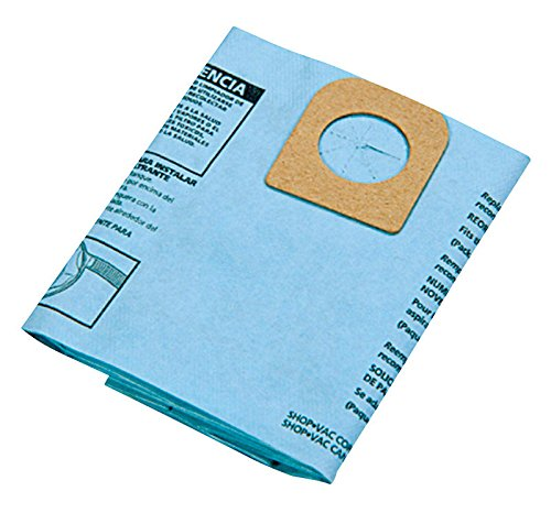 Shop Vac 906-67-00 Disposable Collection Filter Bags For AllAround by Shop-Vac