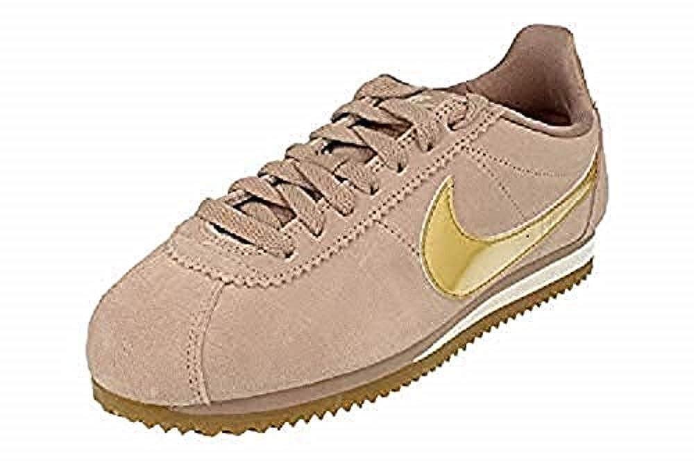 bdf6988cb98 Nike Women s Classic Cortez Se Gymnastics Shoes  Amazon.co.uk  Shoes   Bags