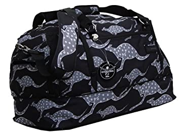 0d6d64c87f4b5 Chiemsee Sportbag Medium Sporttasche Farbe  schwarz-Känguruh  Amazon ...