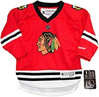 Chicago Blackhawks TODDLER Replica Home Jersey by Reebok