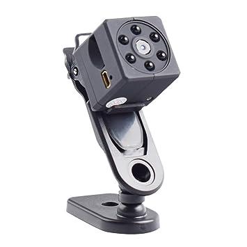 Nueva cámara espía Mini con cámara espía Deportiva DV Cámara Digital HD Visión Nocturna Cámara Gran Angular IR: Amazon.es: Hogar