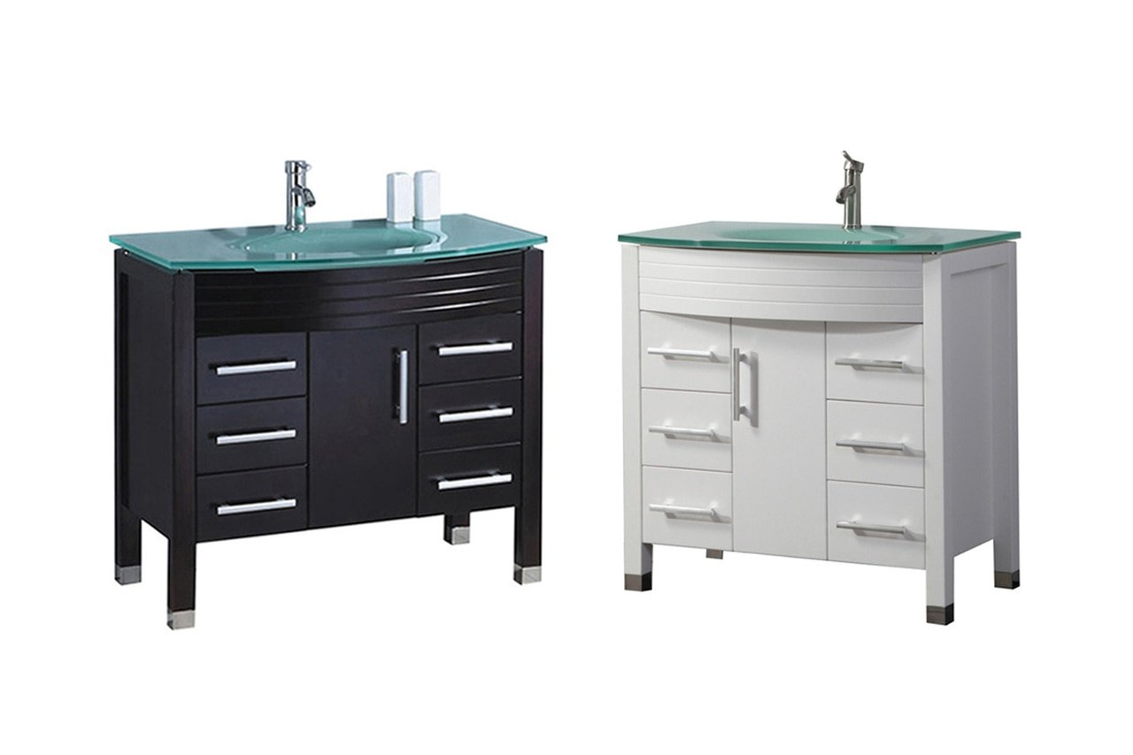 MTD Vanities MTD-8130AW-N 48'' Figi Bathroom Vanity