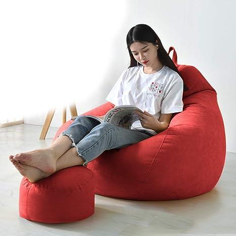 MUHONG Puffs-Infantiles Beanbag Bedroom fácil y Lavable ...