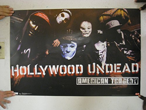 Hollywood Undead - American Tragedy by Unknown Art Print Poster