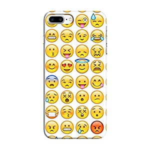 Cover It Up - Smileys Stickers iPhone 8 PlusHard Case