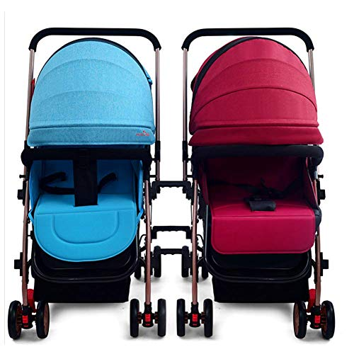Amazon.com: Detachable Twins Baby Strollers Infants BB Cart ...