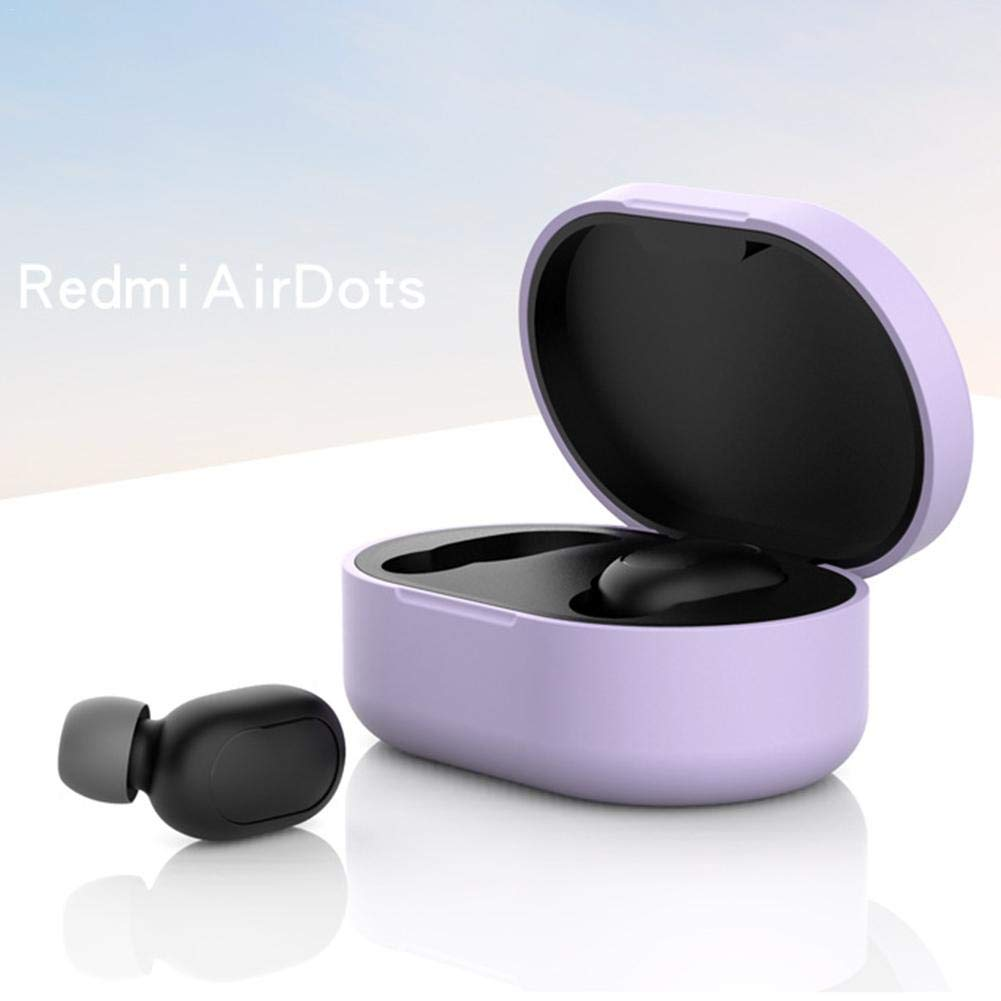 Dorrisi Flexible Anti-Shock Silicone Protective Case for Xiaomi Redmi Airdots TWS Bluetooth Earphone Headset Accessories