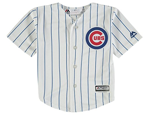 Onesie Chicago Cubs (Chicago Cubs Home Infant Cool Base Replica Jersey by Majestic Select Infant / Toddler / Youth Size: 24 Months)