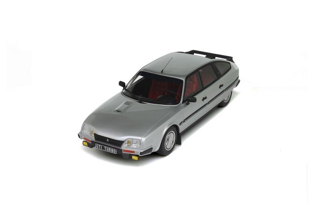 Otto Mobile ot643 - Citroën CX 25 GTI Turbo serie 1 1984 - Plata - Escala 1/18: Ottomobile: Amazon.es: Juguetes y juegos
