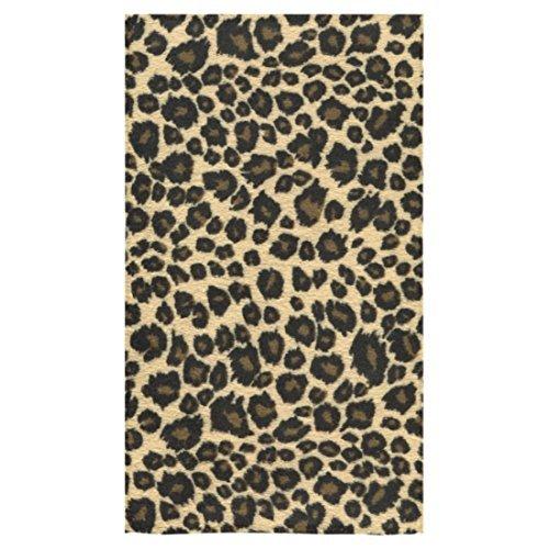 Custom Leopard Print Hand Towel Bath Bathroom Shower Towels 16