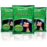 Deewal Paalina (Natural Mehandi-150G) Unisex Pack of 3