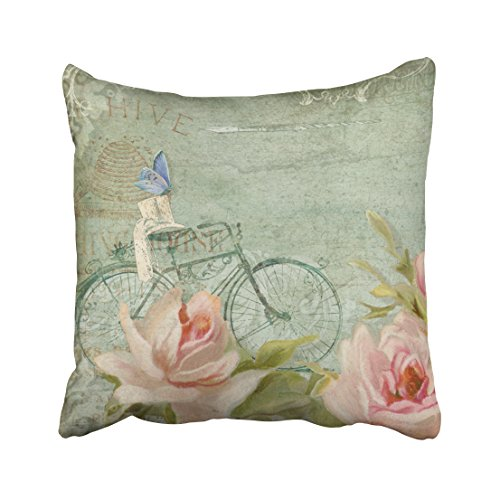 Musesh bicycle summer at the cottage porch roses n bicycle C
