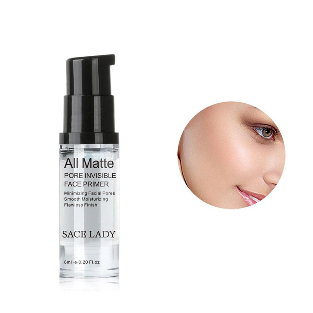 Pawaca makeup Foundation primer Flawless Smooth all opaca Face primer gel per ridurre i pori olio controllo 12ml