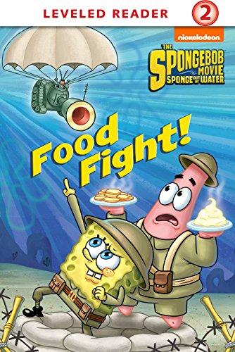 food fight the spongebob movie sponge out of water in 3d