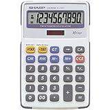 Sharp EL-334FB Bolsillo - Calculadora (Bolsillo, Calculadora básica, 10 dígitos, 1 líneas, Gris)