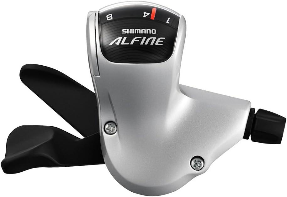 Shimano Alfine 8 Rapidfire Gear Shifter *SILVER* for Alfine Hub Gear SL-S503