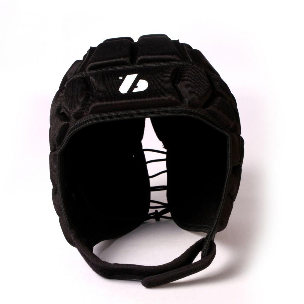 Barnett Heat Pro - Casco de rugby, color negro