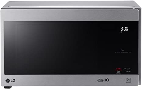 LG LMC0975AST NeoChef 0.9 Cu. Ft. Countertop Microwave Oven, 20 x 12 x 16 inches, Stainless Steel