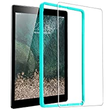 New 2017 iPad 9.7/ iPad Air 2/ iPad Air/ iPad Pro 9.7 Screen Protector, ESR Ultra Clear 9H Tempered Glass Screen Protector with Bubble Free Installation Tool [Lifetime Warranty] Oleophobic Surface Anti-Scratch Anti-Fingerprint for Apple New iPad 9.7 inch 2017 / iPad Air 2 / iPad Air / iPad Pro 9.7 (1 pack)
