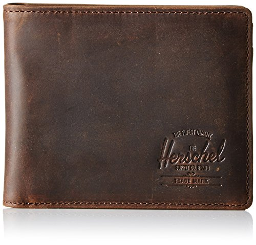 herschel-supply-co-mens-hank-wallet-brown-nubuck-one-size