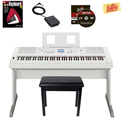 Yamaha Pro Portable Keyboard Piano - 6