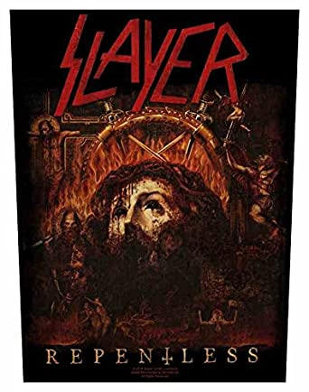 Slayer Mens Repentless Back Patch Black