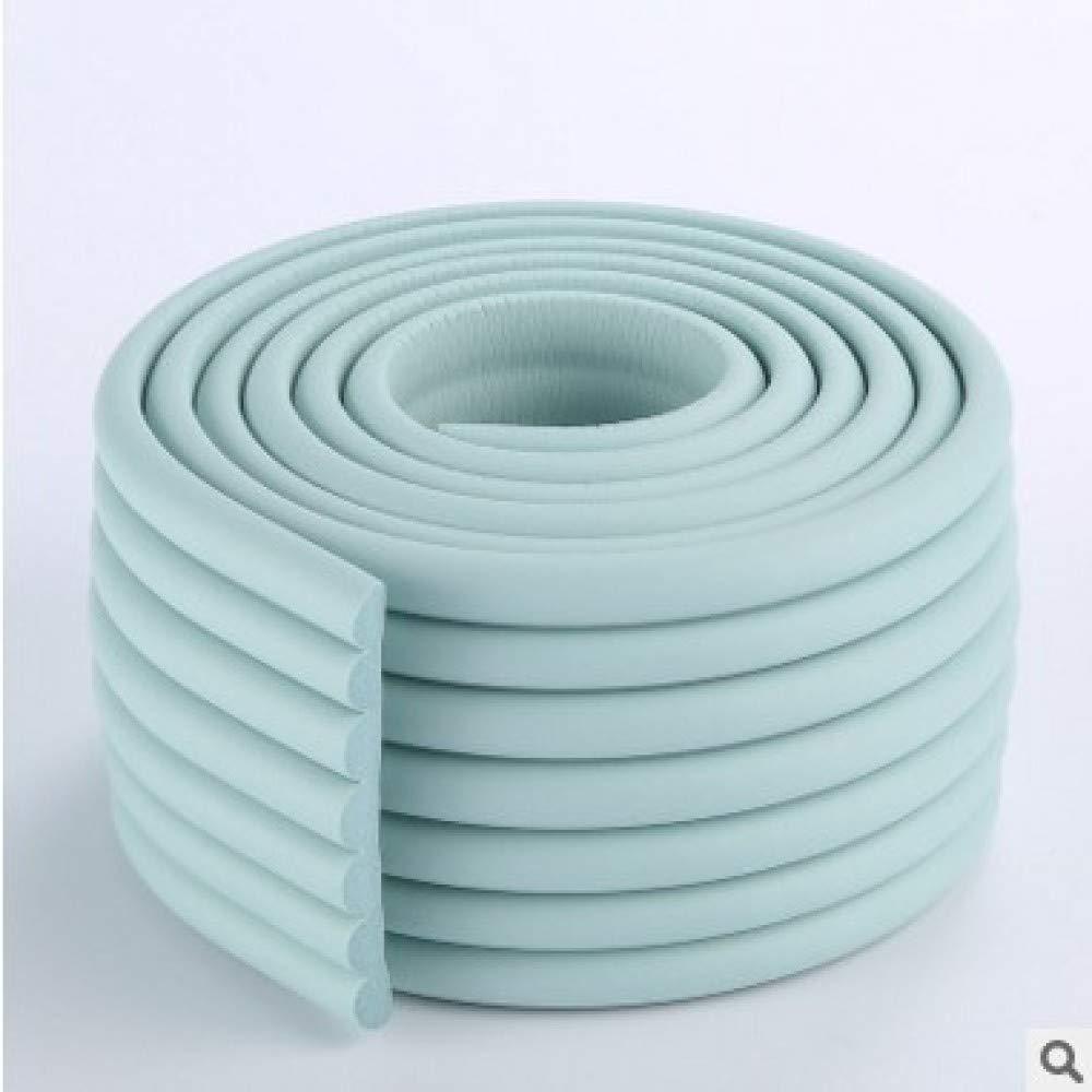 Blau 2mx80mm Extra Dichte M/öbel Tisch Wand Kantenschutz Schaumstoff Baby Safety Bumper Guard Protector W-Typ 2 Meter