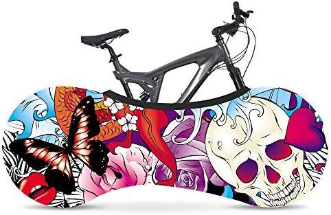 BINGFENG Funda Bici para Interiores Funda para Bicicleta Exterior Cubierta Interior De Bicicleta, La Mejor Solución para Mantener Su Interior Limpio para Bicicletas De Adultos E: Amazon.es: Hogar